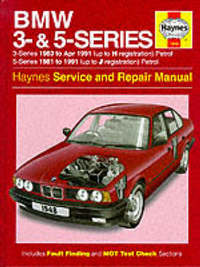 BMW 3 and 5 Series Service and Repair Manual by A.K. Legg image