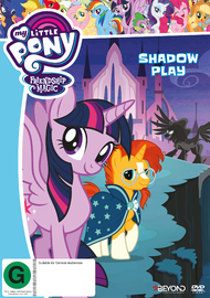 My Little Pony: Friendship Is Magic: Shadow Play on DVD
