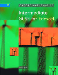 Oxford Mathematics: Intermediate GCSE for Edexcel by Peter McGuire image
