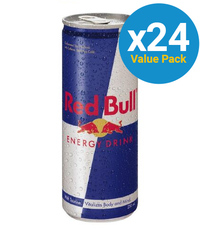 Red Bull Energy Drink 250ml Can (24 Pack)