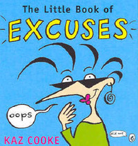 The Little Book of Excuses by Kaz Cooke image
