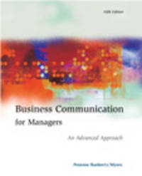 Business Communication for Managers: An Advanced Approach by John M. Penrose image