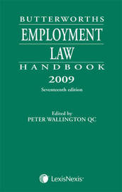 Butterworths Employment Law Handbook image
