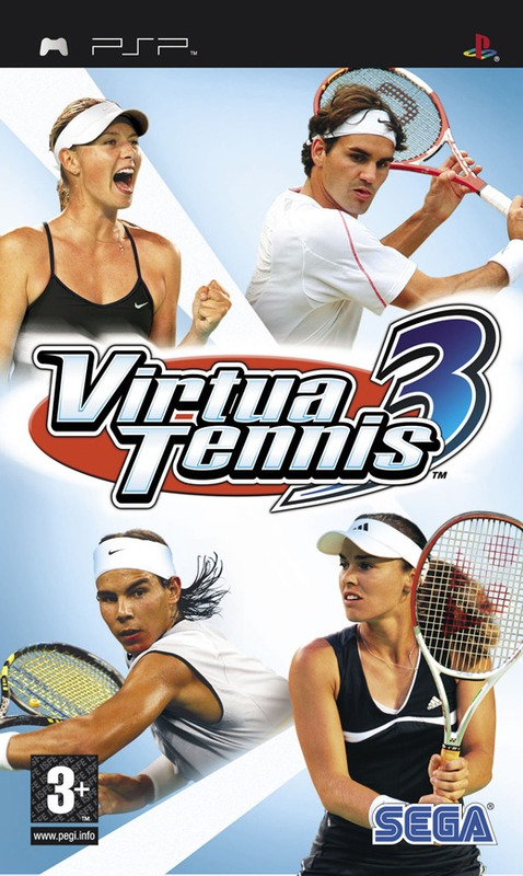 Virtua Tennis 3 for PSP