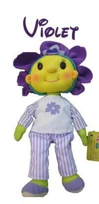 Fifi & the Flowertots Bedtime Beanies - Violet