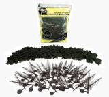 Woodland Scenics Forest Green Pine Trees (24 pack)