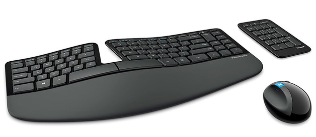 Microsoft Sculpt Ergonomic Desktop - Keyboard & Mouse