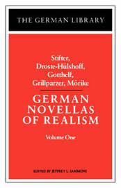 German Novellas of Realism: v. 1 by Stifter image