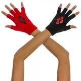 Batman Harley Quinn Knit Gloves