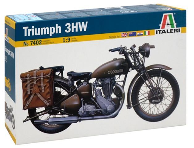 Italeri: 1/9 WWII TRIUMPH - Model Kit