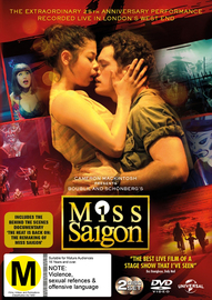 Miss Saigon Live! on DVD image