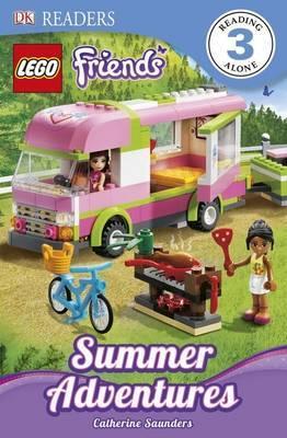 DK Readers L3: Lego Friends: Summer Adventures by Catherine Saunders