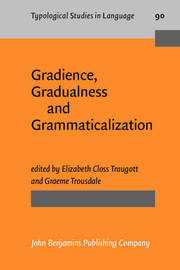 Gradience, Gradualness and Grammaticalization image