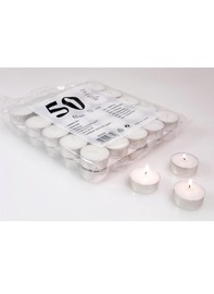 Pack of 50 Tealights - 4.5 Hour