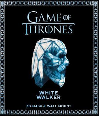 Game of Thrones Mask and Wall Mount - White Walker by Steve Wintercroft