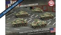 Team Yankee: M60 Patton Tank Platoon (Plastic)