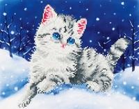 Diamond Dotz: Facet Art Kit - Kitten in Snow