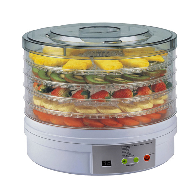 Kitchen Couture Deluxe Digital Food Dehydrator (Round)
