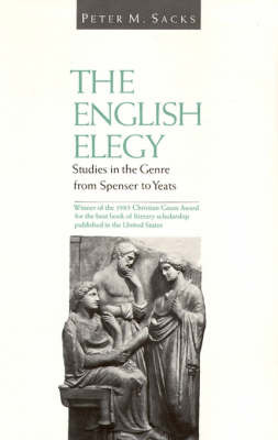 The English Elegy by Peter M. Sacks image
