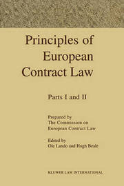 Principles Of European Contract by OLE Lando