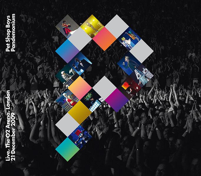 Pandemonium (CD/DVD) by Pet Shop Boys image