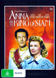 Anna And The King Of Siam on DVD image