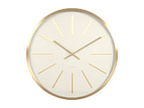 Karlsson Wall Clock - Maxiemus (Gold/White)