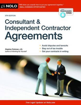 Consultant & Independent Contractor Agreements by Stephen Fishman image