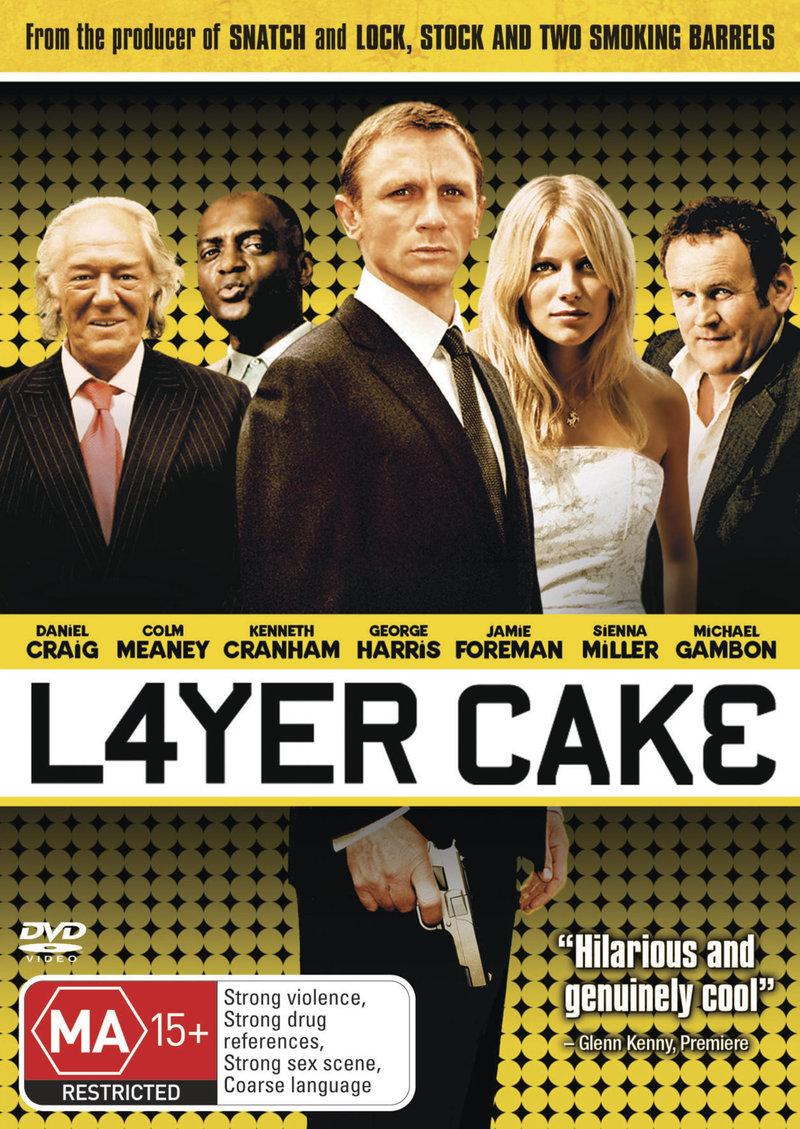 Layer Cake on DVD image
