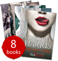 True Blood / Sookie Stackhouse 1-8 Boxed Set (True Blood covers) by Charlaine Harris image