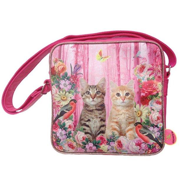 DeKunstboer Cats Square Bag