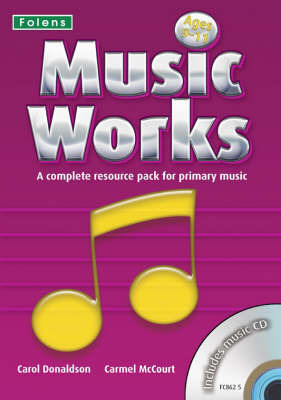 Music Works: Bk. 3 by Carmel McCourt image
