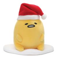 """Gudetama: Santa Hat - 5"""" Egg Plush image"""