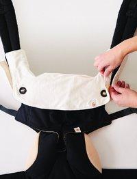 Ergobaby: 360 - Teething Pad & Bib (Natural)