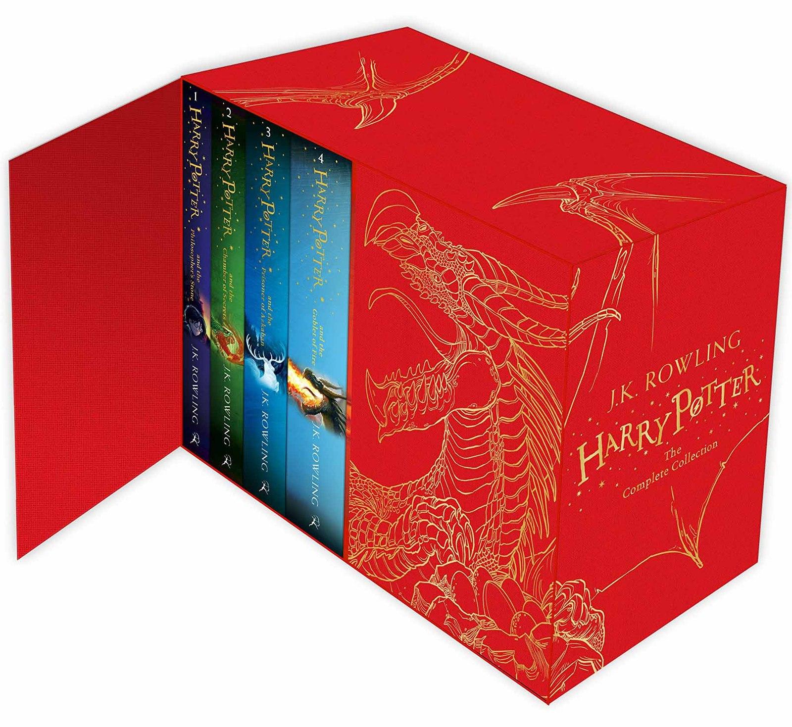 Harry Potter Book Box Set Australia : Harry potter box set j k rowling book in stock buy