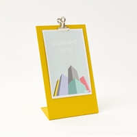 Block Design: Clipboard Frame (Medium Yellow)