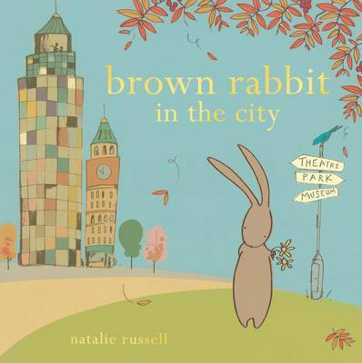 Brown Rabbit in the City by Natalie Russell image
