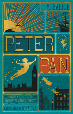 Peter Pan (Illustrated with Interactive Elements) by J.M.Barrie