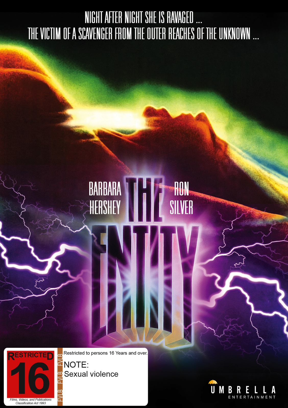 The Entity on DVD image