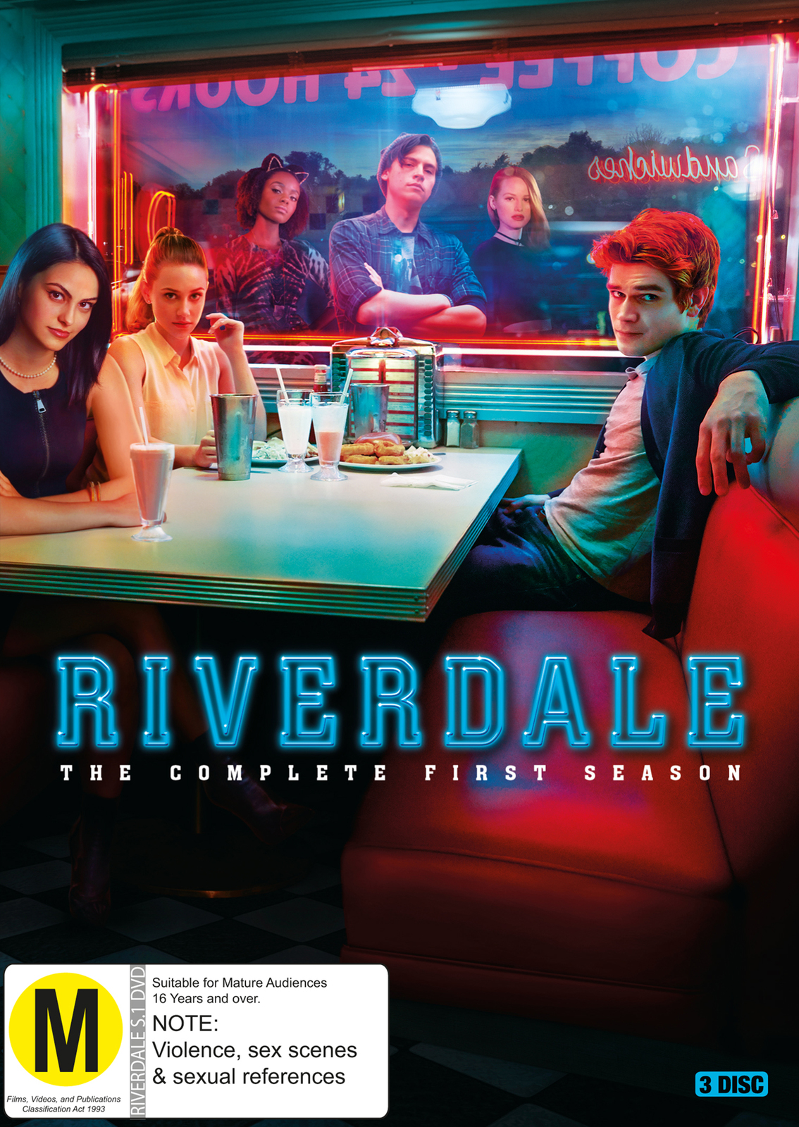 Riverdale - The Complete First Season on DVD image