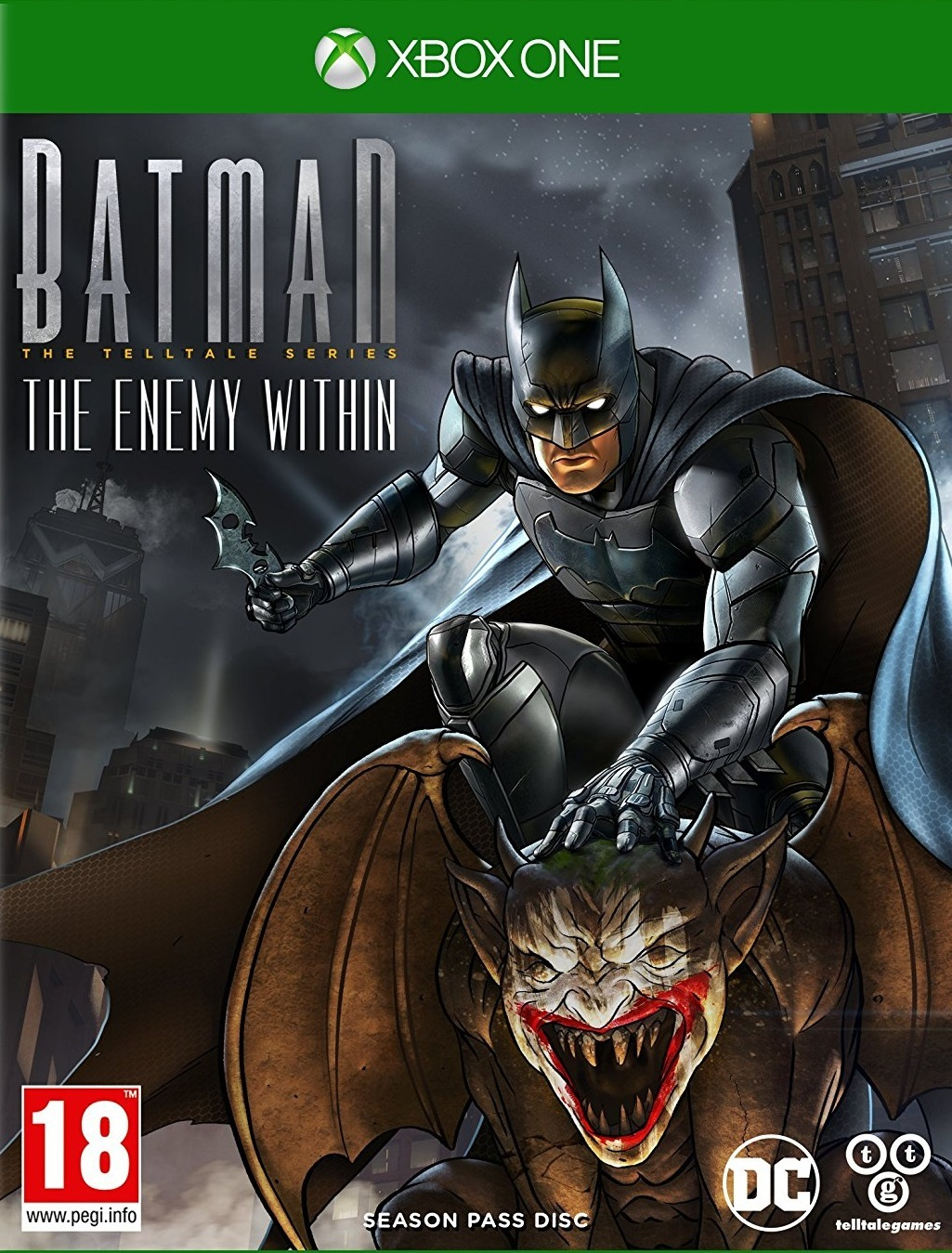 Batman: The Telltale Series - The Enemy Within for Xbox One image