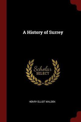 A History of Surrey by Henry Elliot Malden image