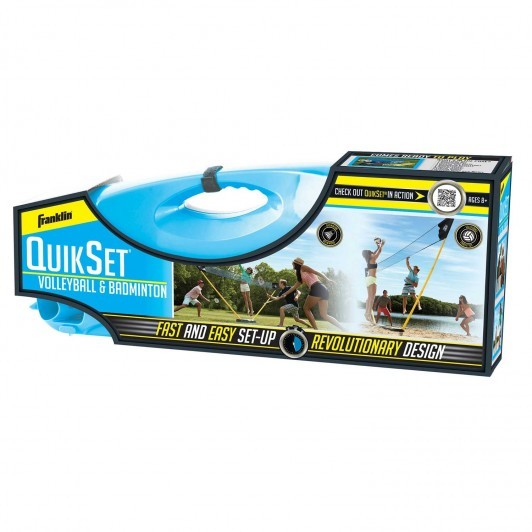 Franklin Quikset Volleyball & Badminton Combo Set