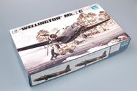 Trumpeter 1/48 Wellington Mk.1C - Scale Model