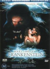 Mary Shelly's Frankenstein on DVD