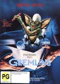 Gremlins on DVD image