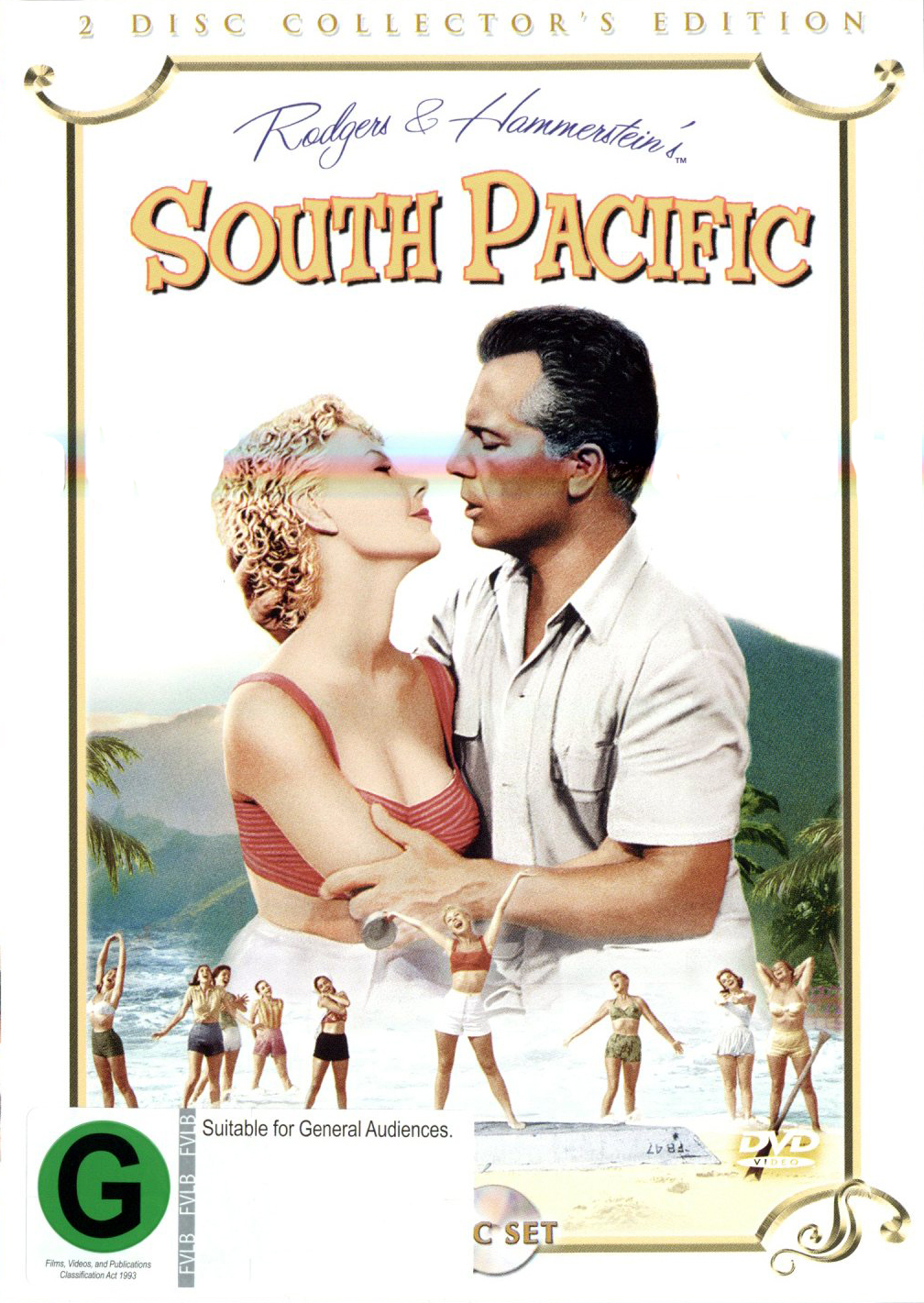 South Pacific - Collector's Edition (2 Disc Set) on DVD image