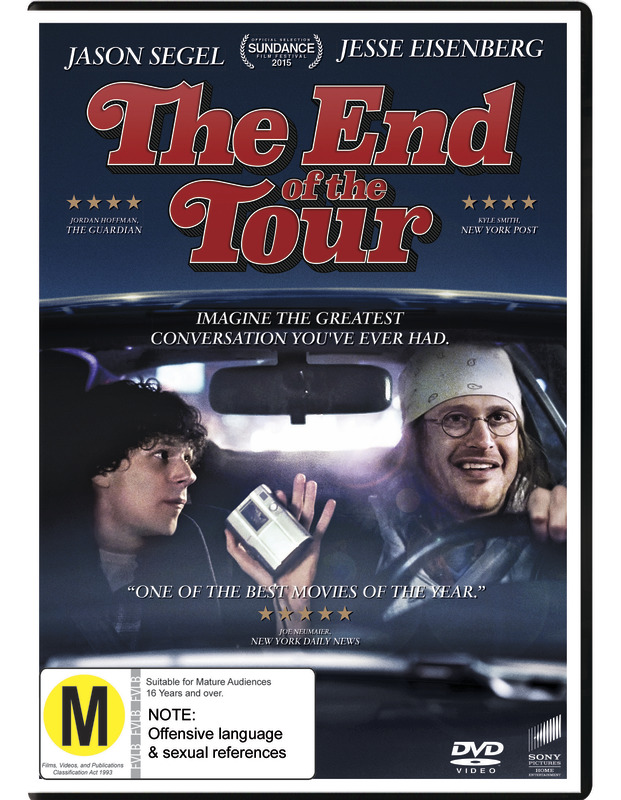 End Of The Tour on DVD