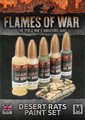 Flames of War: Desert Rats - Paint Set
