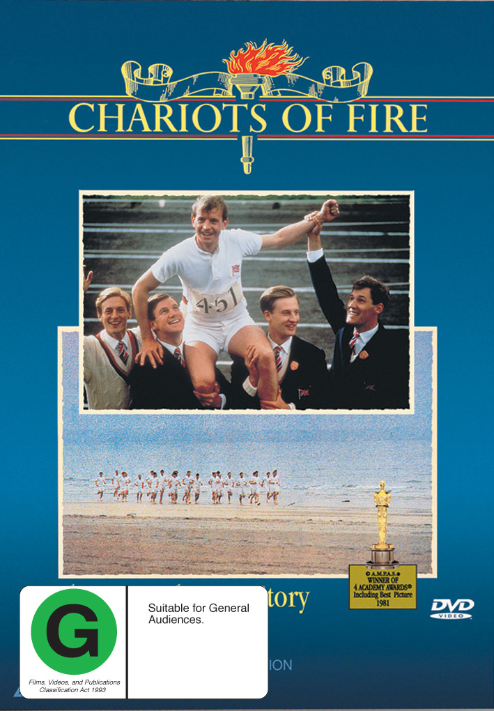Chariots of Fire on DVD image